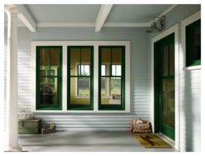 different types of windows: double hung windows